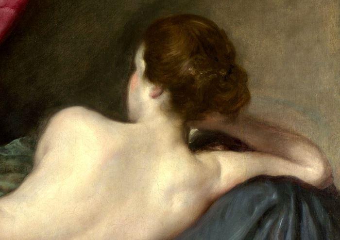 Диего Веласкес. Венера с зеркалом. Фрагмент