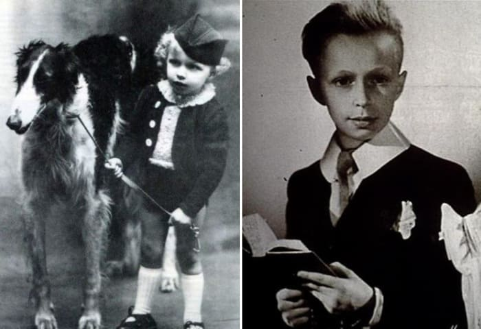 Пьер Ришар в детстве | Фото: uznayvse.ru