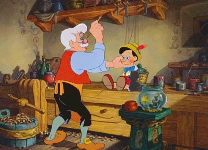 Пиноккио и папа Карло