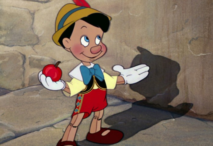 Сказочный герой Пиноккио