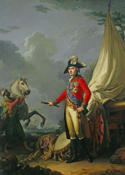 И. Лампи. Портрет князя Платона Александровича Зубова, 1802 | Фото: diletant.media