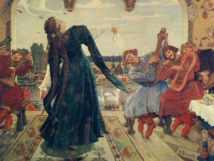 В. Васнецов. Царевна-лягушка, 1901-1918   Фото: artchive.ru