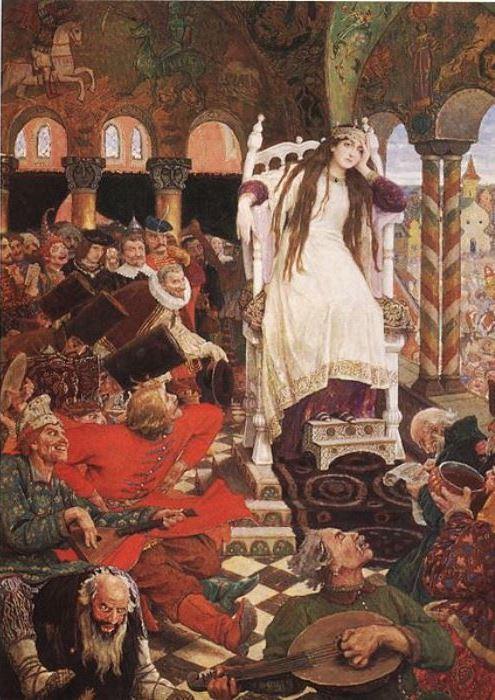 В. Васнецов. Царевна-Несмеяна, 1916-1926   Фото: artchive.ru