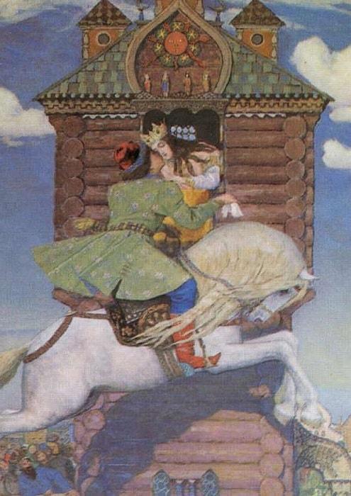 В. Васнецов. Сивка-бурка, 1919-1926   Фото: artchive.ru
