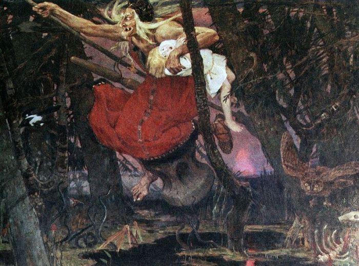 В. Васнецов. Баба Яга, 1917   Фото: artchive.ru