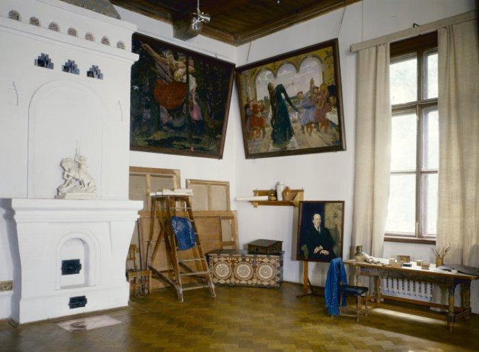 В доме-музее В. Васнецова в Москве   Фото: profi-news.ru