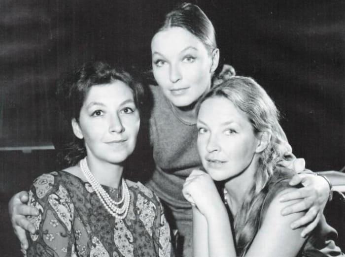 Сёстры Поляковы-Байдаровы: Элен Валье, Марина Влади, Одиль Версуа | Фото: kino-teatr.ru
