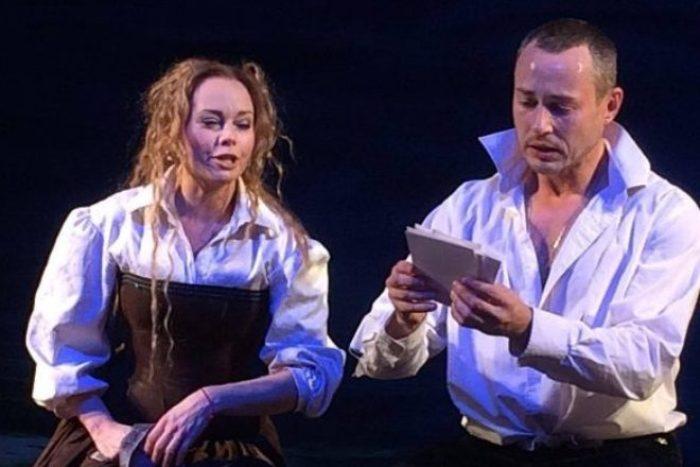 Елена Корикова и Дмитрий Исаев на сцене театра   Фото: 24smi.org