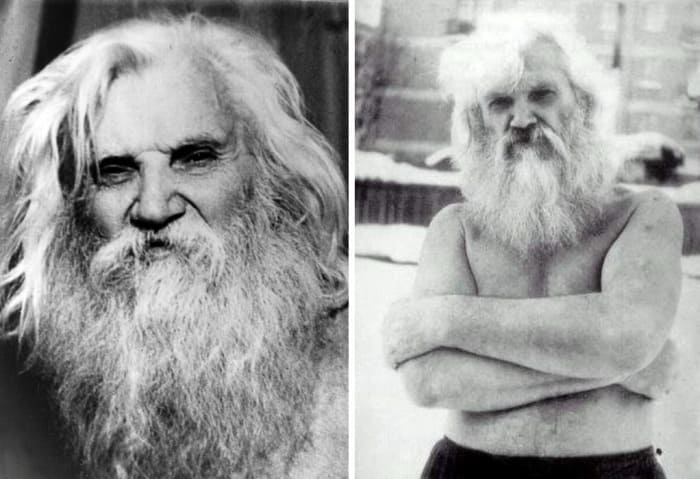 Самый популярный в СССР в 1980-Ñ Ð³Ð³. целитель Порфирий Иванов | Фото: ruspekh.ru и slavs.org.ua