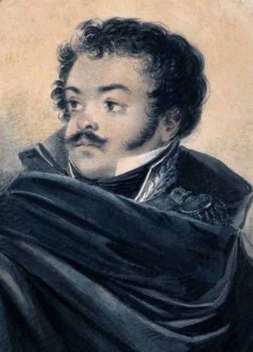 В. Лангер. Портрет Дениса Давыдова, 1819 | Фото: sevmb.com