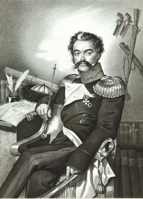 К. Гампельн. Портрет Дениса Давыдова, 1820-е гг. | Фото: pravmir.ru