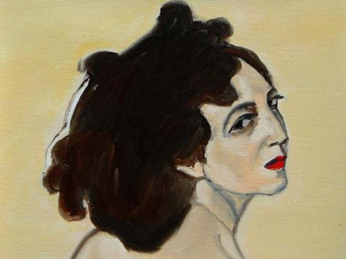 В. Серов. Портрет Иды Рубинштейн, 1910. Фрагмент | Фото: art-galerea.ru