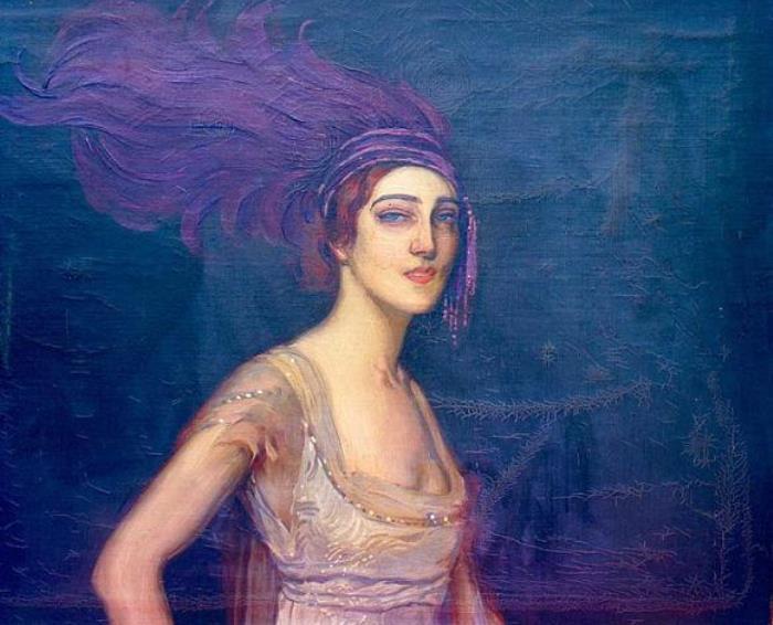 Антонио де ла Гандара. Ида Рубинштейн, 1913 | Фото: liveinternet.ru