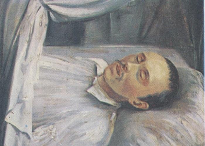 Р. Шведе. М. Ю. Лермонтов на смертном одре