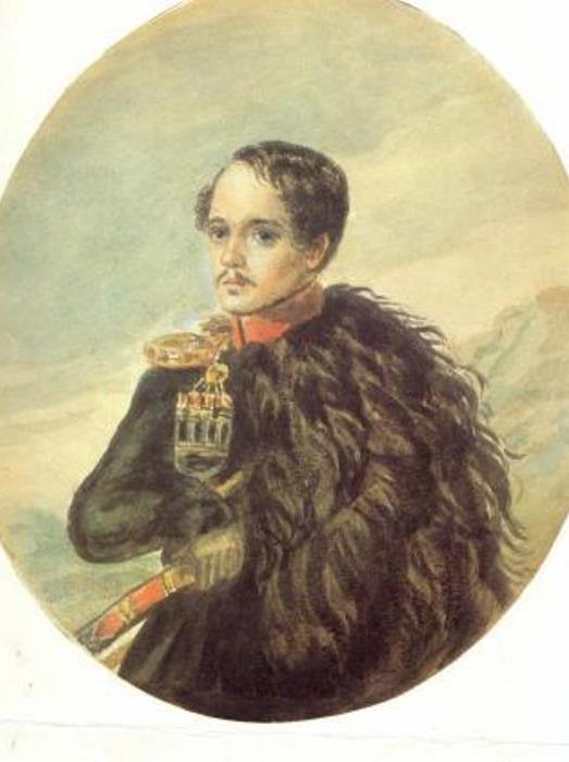 М. Лермонтов. Автопортрет, 1837
