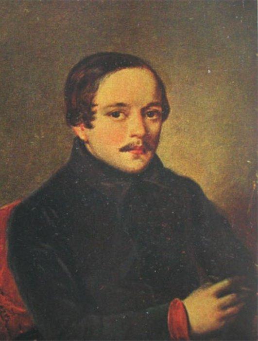 П. Заболотский. Портрет М. Ю. Лермонтова в штатском платье, 1840