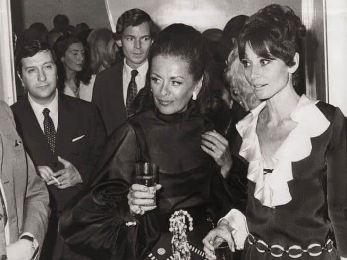 Ирэн Голицына и Одри Хепберн | Фото: blog.i.ua