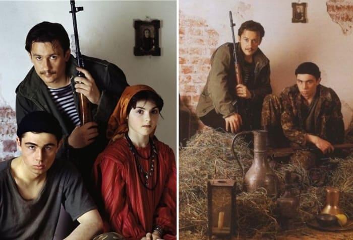 Фильм *Кавказский пленник* стал призером на нескольких кинофестивалях   Фото: tele.ru и vokrug.tv