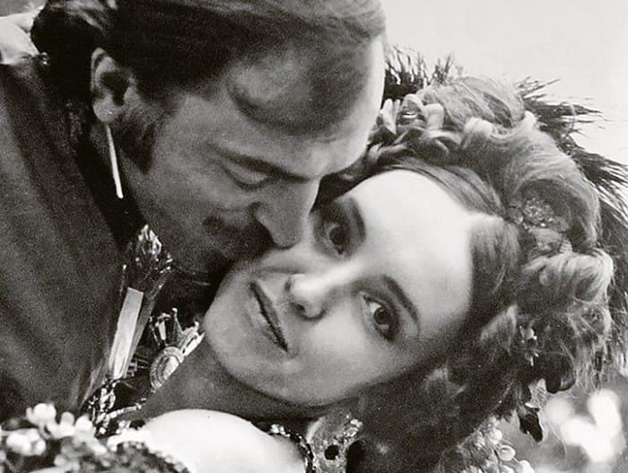Анна Самохина и Михаил Боярский на съемках фильма | Фото: kp.ru