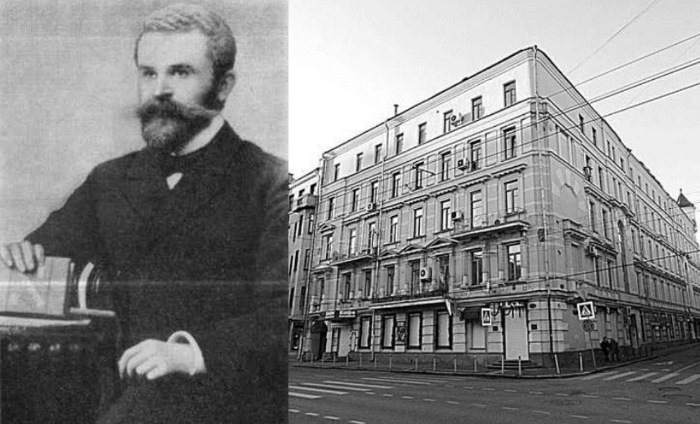Дядя Булгакова Н. М. Покровский и дом на Пречистенке, в котором он жил