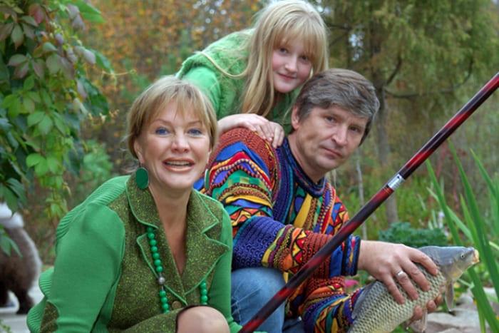 Елена Проклова с мужем Андреем Тришиным и дочерью Полиной   Фото: 24smi.org