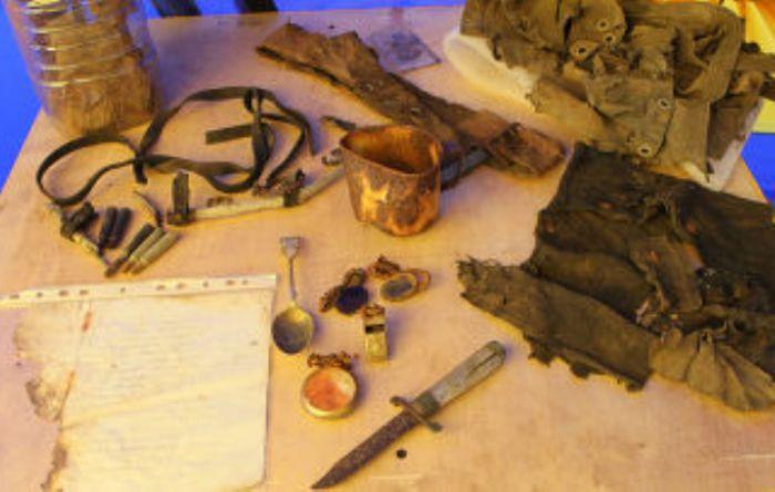Найденные в 2010 г. следы пропавшей экспедиции Георгия Брусилова | Фото: inosmi.ru
