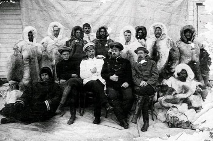 Члены экспедиции Седова | Фото: odnarodyna.org