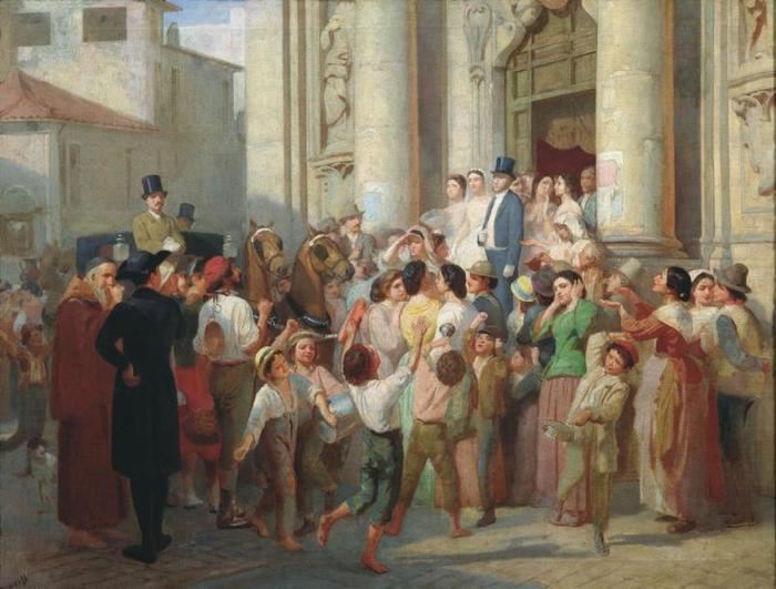 Аким Карнеев. Неравный брак, 1866