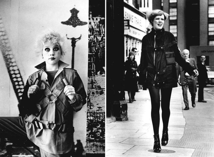 Панки: 16-летняя сотрудница магазина Вивьен Вествуд и Beverly Harris из Ноттингема