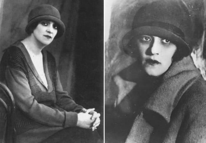 Фаина Раневская в 1920-х гг. | Фото: kino-teatr.ru и woman.ru