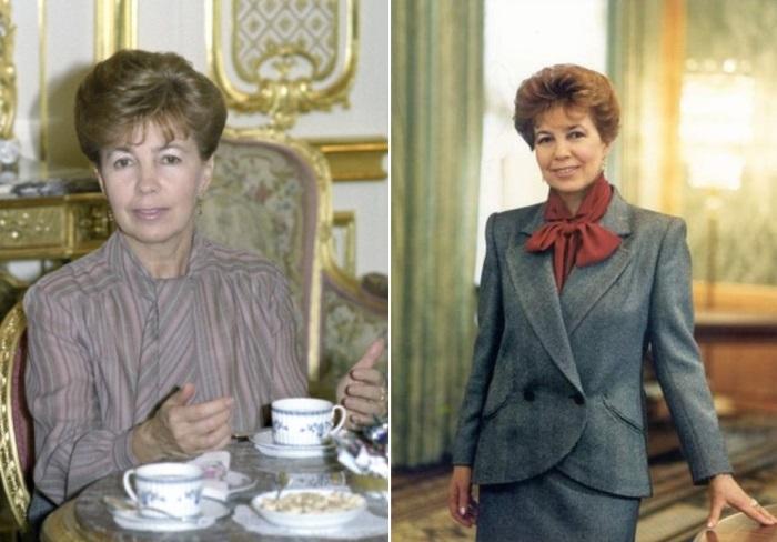 Первая леди СССР | Фото: materiality.info и fashiony.ru