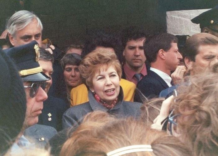 Раиса Горбачева в Миннеаполисе, 1991 | Фото: diletant.media