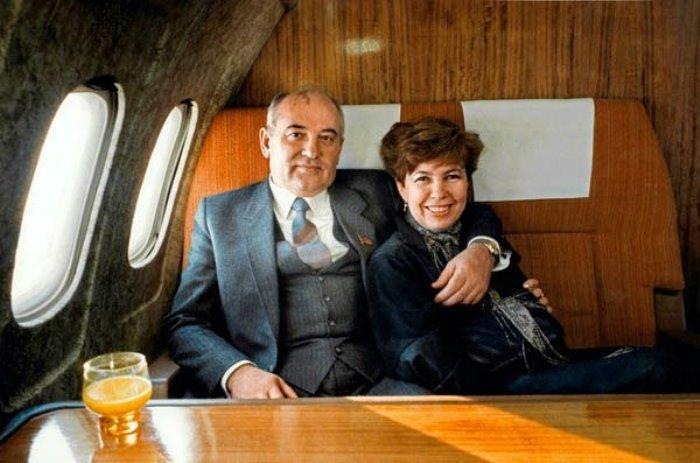 Михаил и Раиса Горбачевы | Фото: materiality.info