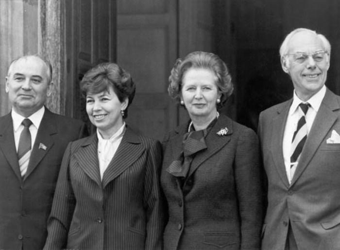 Визит четы Горбачевых в Великобританию 1989 | Фото: materiality.info