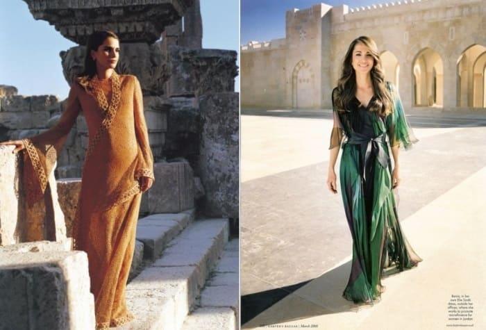 Королева Иордании часто появляется на страницах модных журналов | Фото: top-antropos.com