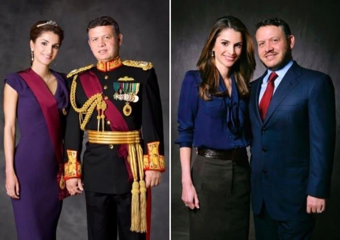 Король Иордании Абдалла II с женой Ранией | Фото: top-antropos.com