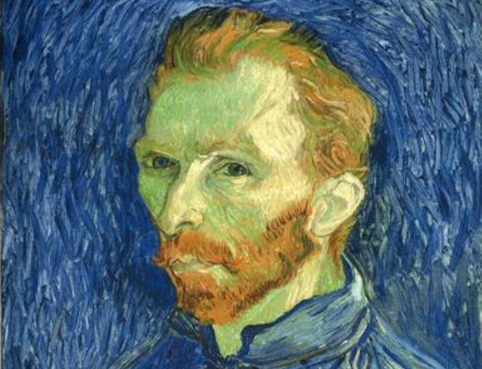 Винсент ван Гог. Автопортрет. Фрагмент