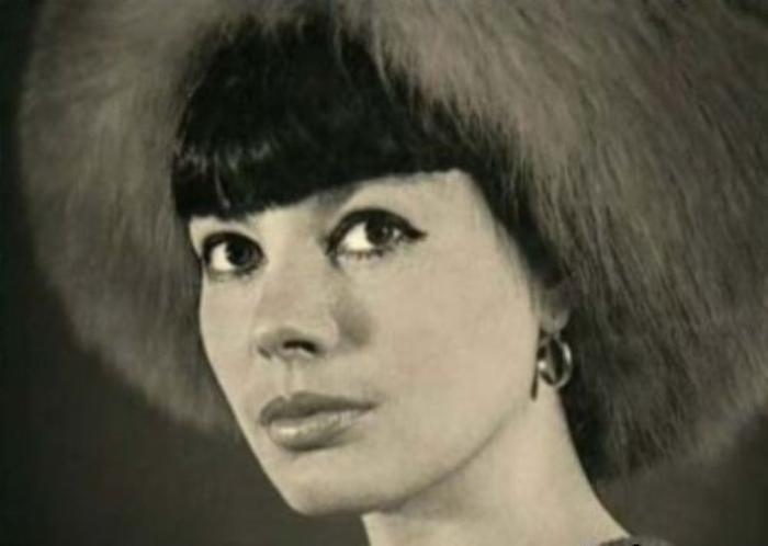 Регина Збарская, одна из первых советских манекенщиц
