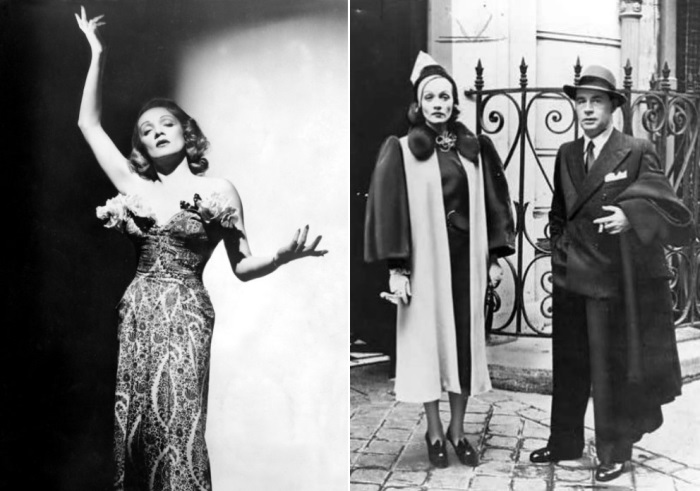 Марлен Дитрих и Эрих Мария Ремарк, 1939 | Фото: radikal.ru и subscribe.ru