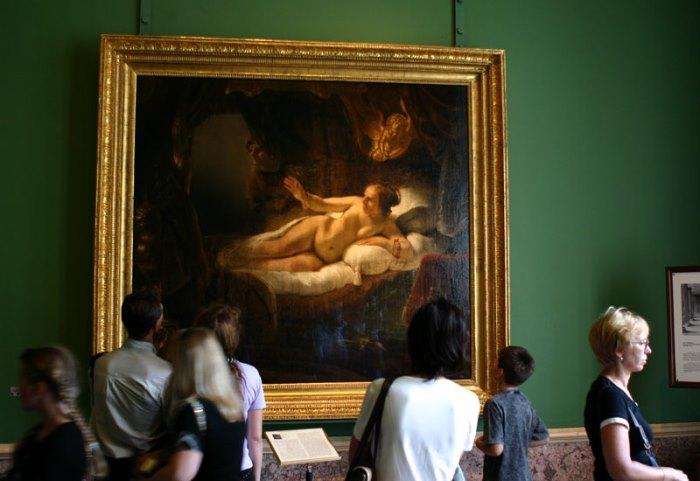 Загадочная и трагическая судьба «Данаи» Рембрандта ...
