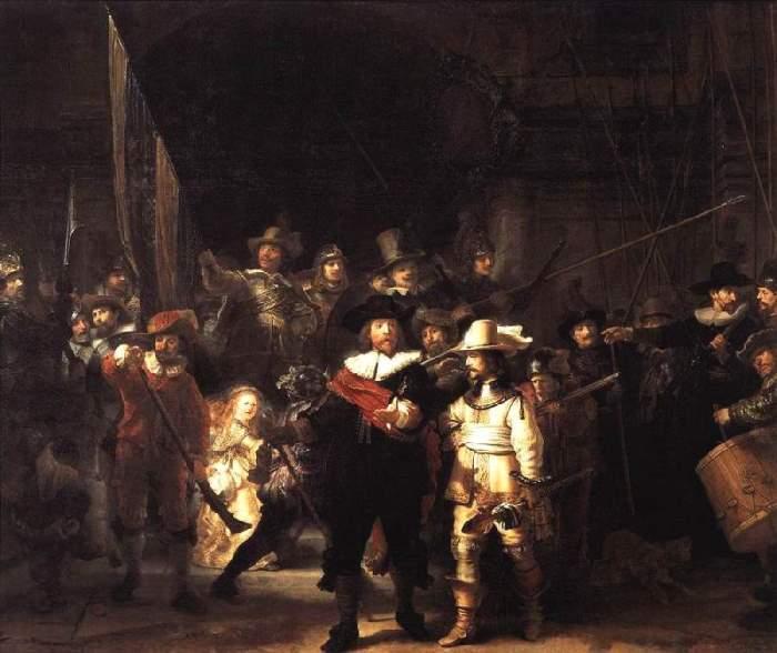 Рембрандт ван Рейн. Ночной дозор, 1642