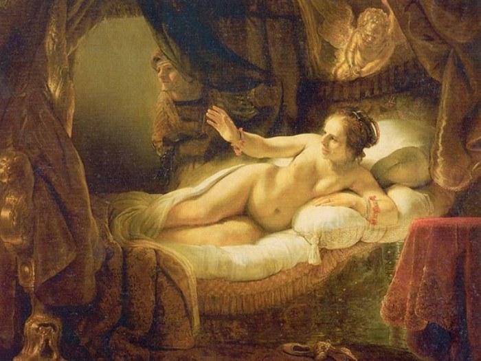 Рембрандт ван Рейн. Даная, 1636-1647