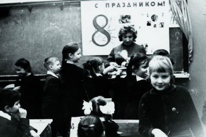 Рената Литвинова в школьные годы, 1970-е гг. | Фото: starhit.ru