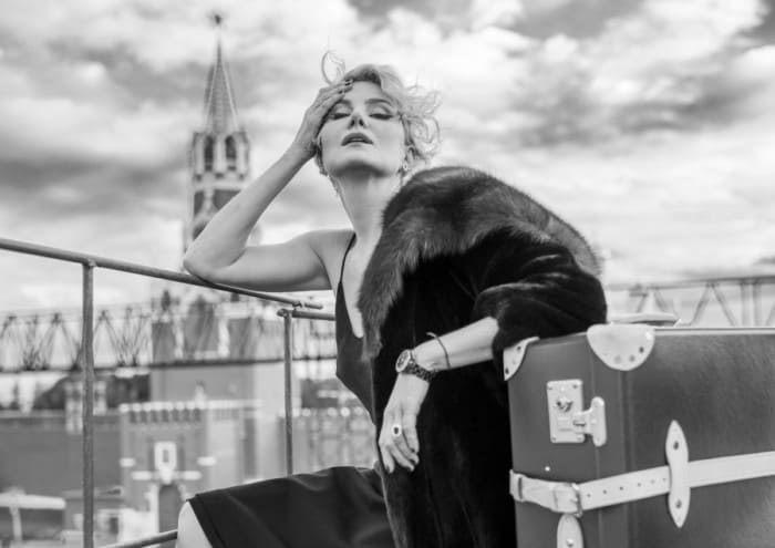 Одна из самых ярких, стильных, загадочных и экстравагантных актрис | Фото: textinthepiter.livejournal.com