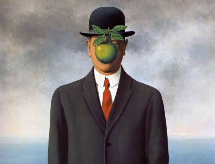 Рене Магритт. Сын человеческий, 1964 | Фото: arthistory.ru