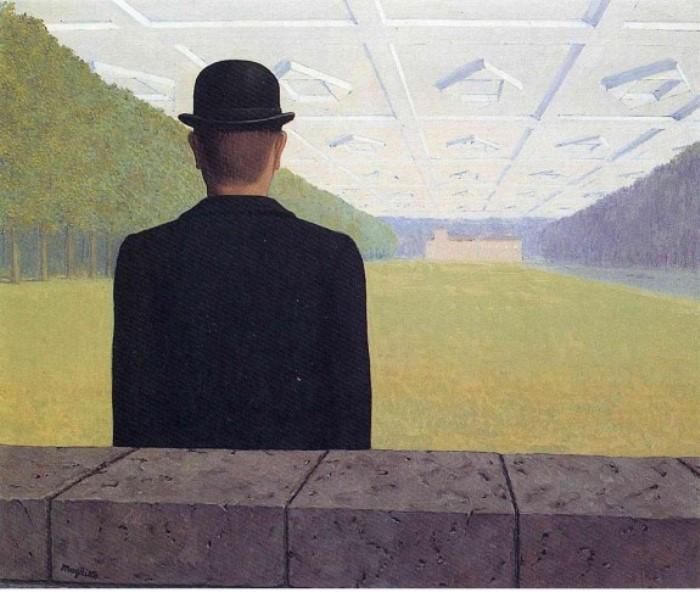 Рене Магритт. Великое столетие, 1954. Фото: Интернет