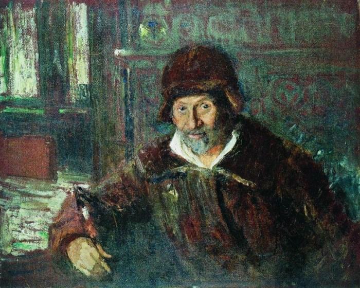Илья Репин. Автопортрет, 1923