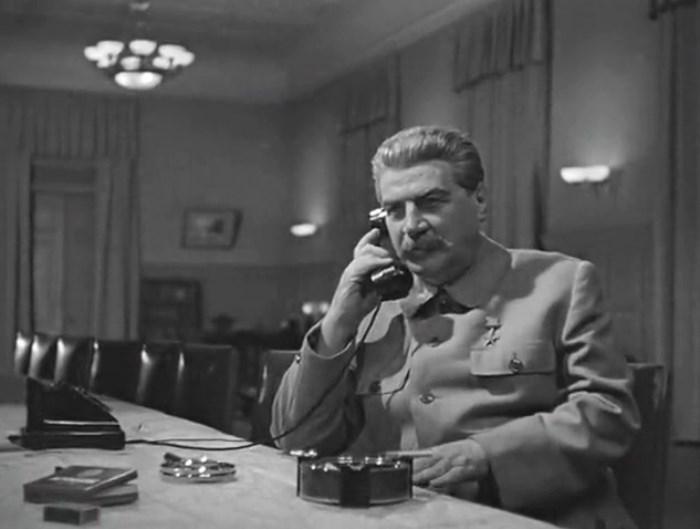 Алексей Дикий в фильме *Сталинградская битва*, 1949