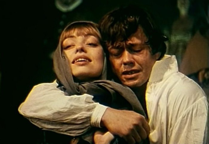 Рок-опера *Юнона и Авось*. Кадр из телеверсии спектакля, 1983 | Фото: mp3klab.ru