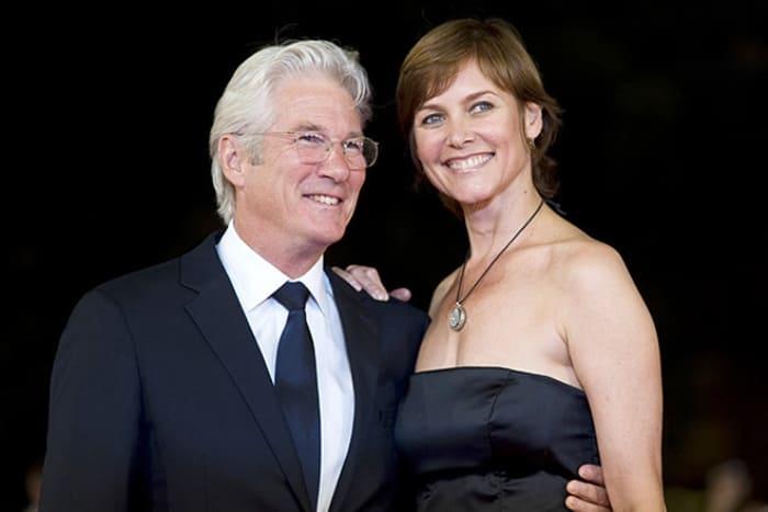 Ричард Гир и Кэри Лоуэлл | Фото: 24smi.org